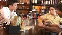 Naughty Twinks Bar Threesome