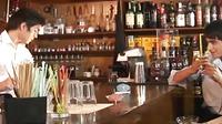 Gay Twinks Threeway At The Bar