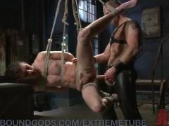 Merciless Rope Suspension Fuck