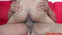 Oriental Asian Twink Pounds Tight Ass
