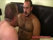 Huge Gay Bear Threesome
